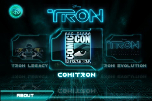 iPhone TRON Application