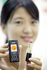 EV-K130 Lipstick-Sized Cell Phone