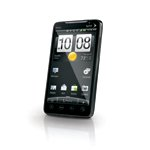HTC EVO 4G Android TV phone with built-in kickstand for handsfree viewing