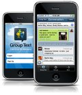 Cell Phone With Group Text App