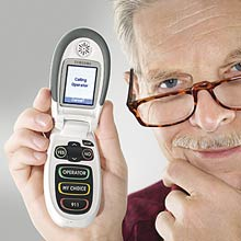 Jitterbug Cell Phone For Seniors [Courtesy: FirstStreet]