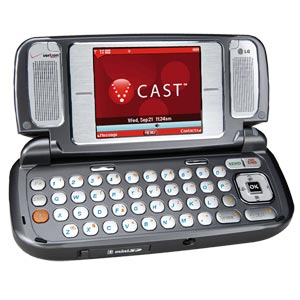 LG VX9800 Cell Phone With Keyboard