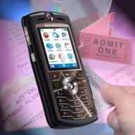 Motorola M-Wallet Cell Phone [Courtesy: PRNewsFoto]