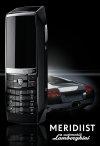 Meridiist Lamborghini Mobile Phone [Courtesy: PRNewsFoto]