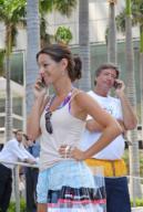 Miami Cell Phone Users. [Photo: PRNewsFoto]
