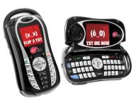 Virgin Mobile's Switch_Back Cell Phone By Kyocera. [Photo: Courtesy of PRNewswire]