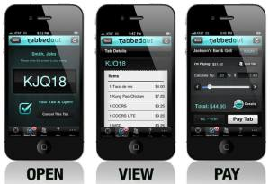 Tabbedout Mobile Payment App