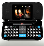 Wild Card Cell Phone With Keyboard [Courtesy: PRNewsFoto/Virgin Mobile]