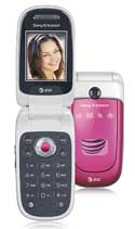 Sony Ericsson Z310a Lush Pink Cell Phone