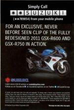 Suzuki ad using StarStar Number to deliver mobile video [Photo: PRNewsFoto/Zoove]